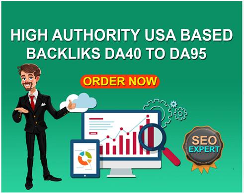 Make USA based high quality seo backlinks