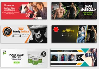 Get Facebook Cover,  Twitter Cover,  YouTube Cover Flyer Banner Logo and other