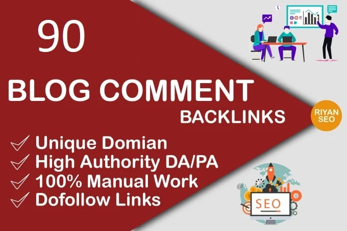 I will do 90 blog comments do follow backlinks