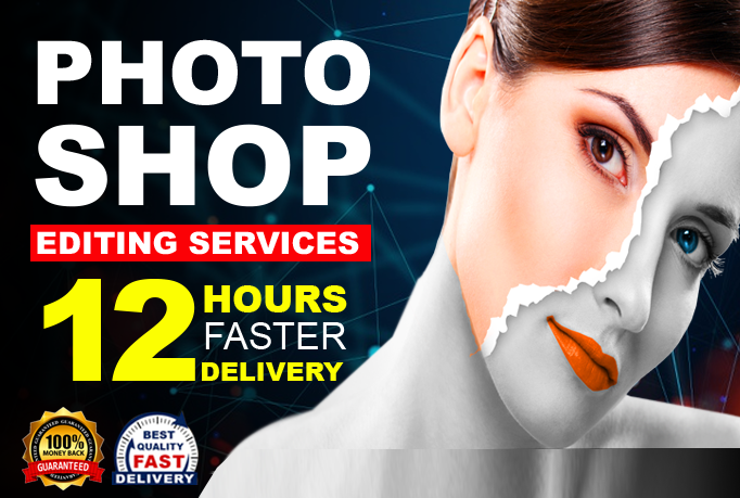 I will do all kinds of image editing for you