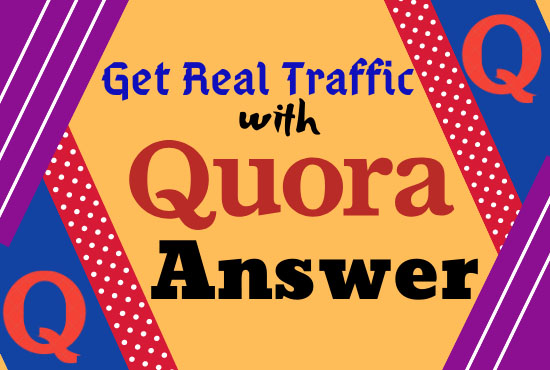 Guaranteed 10 high Quality Quora Answers with URL for 5