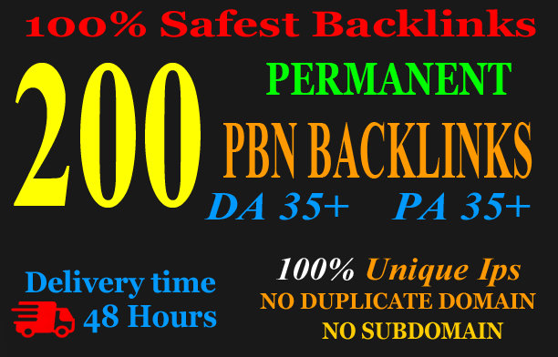premium 200 Pbn Backlink homepage web 2.0 with permanent dofollow & High DA/PA