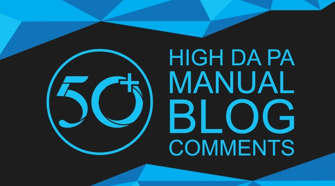 Create Manually 50 Dofollow and High DA & PA Blog Comment Backlinks