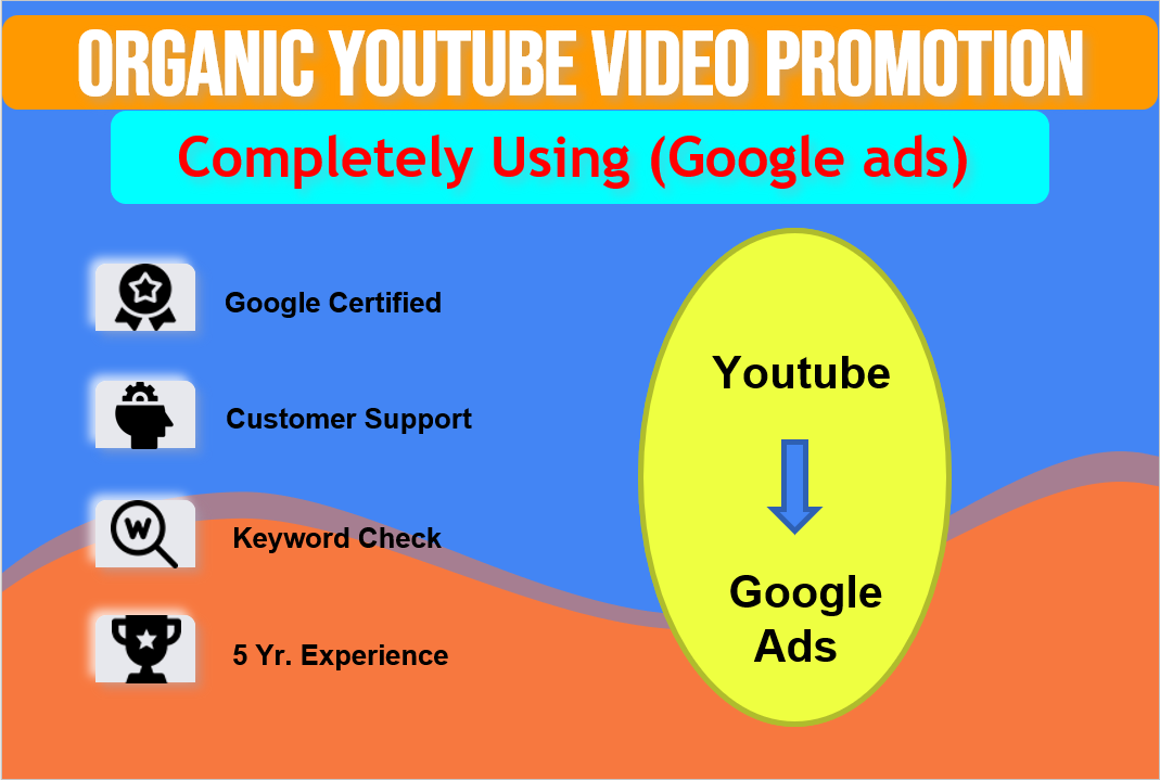 YouTube video promotion using google ads
