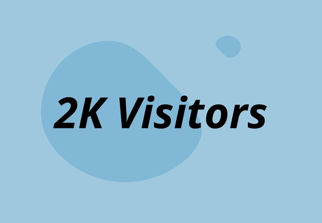 Get 2000 real and safe traffic on the AdSense platform