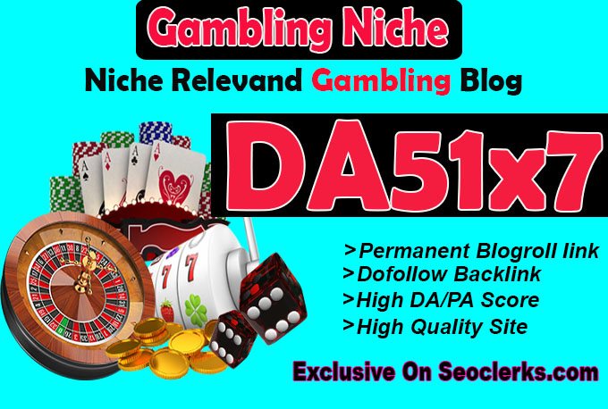 give your backlink on 7xda51 gambling blogroll permanent