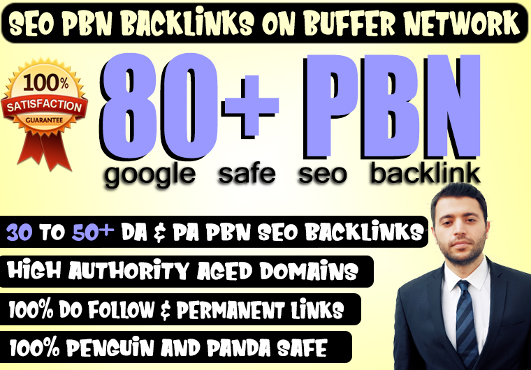Build 80+ Permanent PBN Backlinks With High DA PA TF CF Dofollow backLinks