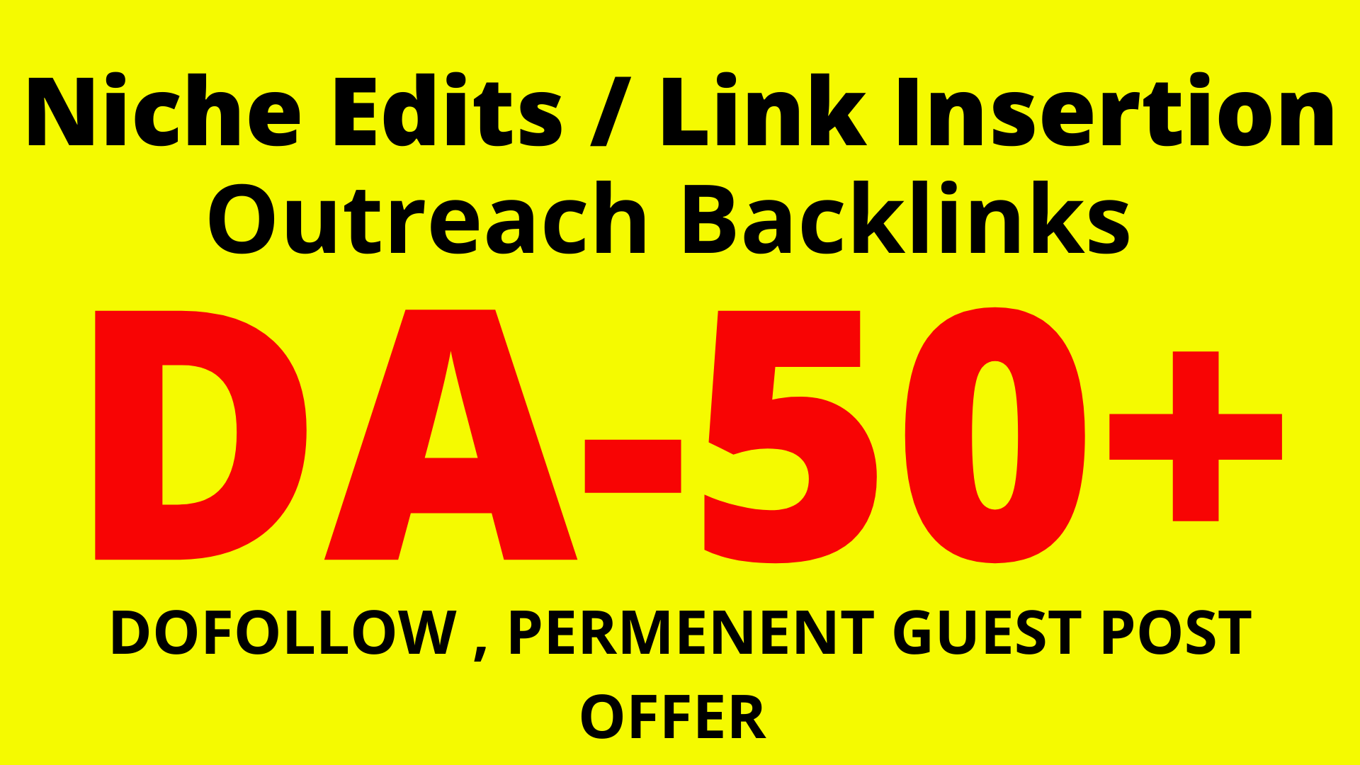 I will do niche edit outreach SEO backlinks link building service