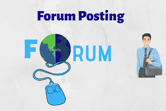 I will promote website 15 HQ niche related forum posting backlinks