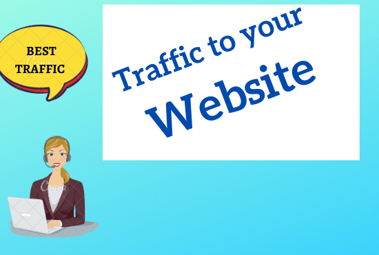 Guaranteed I will drive real targeted traffic,  quality visitors