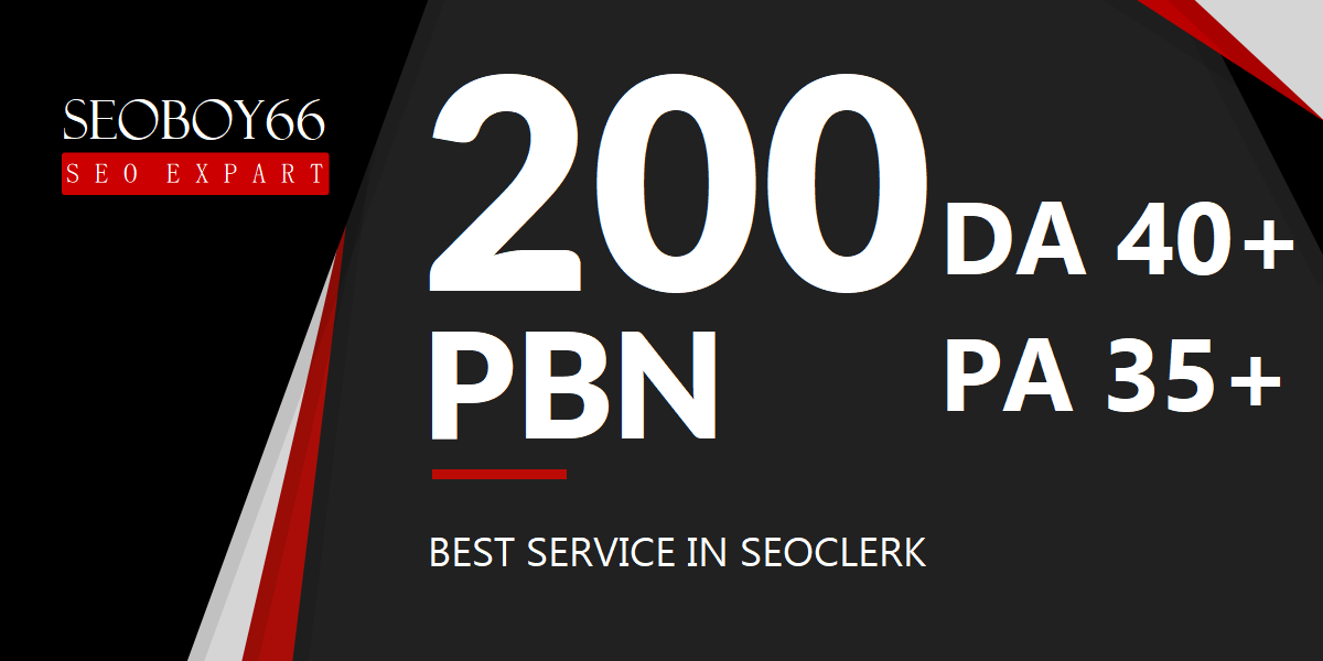 Extreme 200 web 2.0 PBN in unique 200 domain