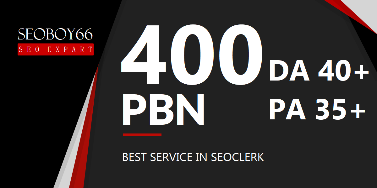 Best quality 400 PBN backlinks in 400 unique domain