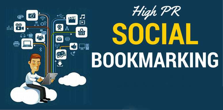 Manually Do 50 social bookmarking on high PR backlinks