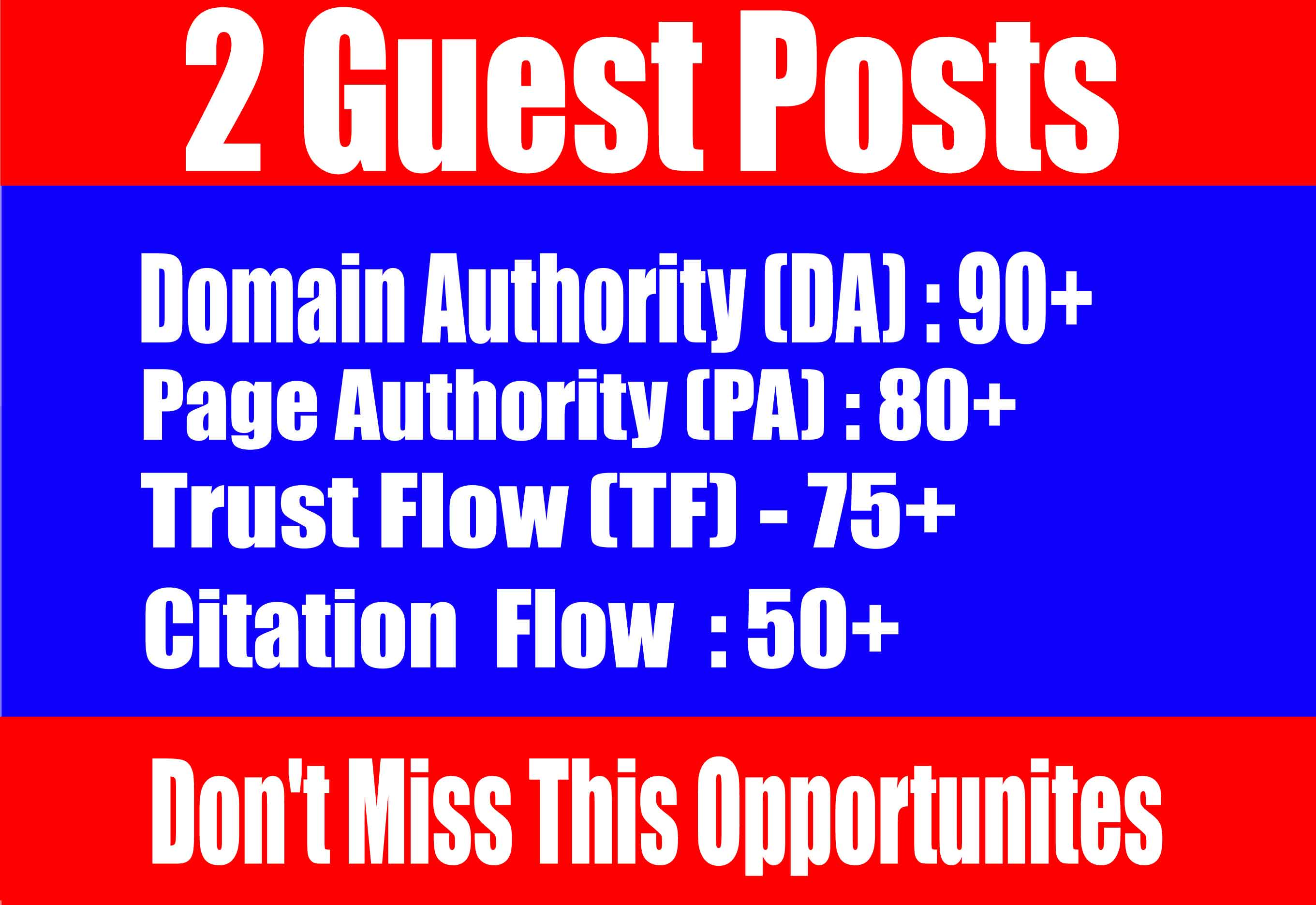 Publish 2 Guest Posts on,  Diigo,  Reddit,  - High TF CF DA 90+