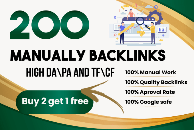 Get 200 Blog comments Backlinks with complete seo on your site BUY 2 GET 1 FREE