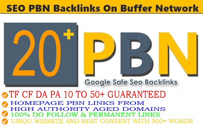 Build 20+ PBN Backlinks With High TF CF DA PA Do-follow Links Homepage Unique website