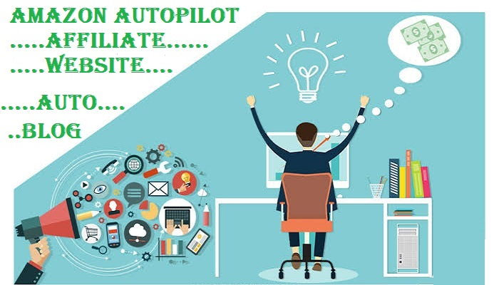 I will build amazon autopilot website with best selling products