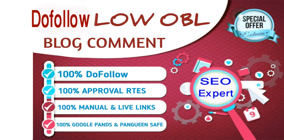 Build 100+ spam score 5 below SEO Dofollow Blog Comments on High DA PA