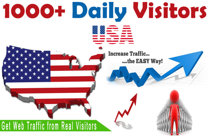 1,000 USA traffic to your website