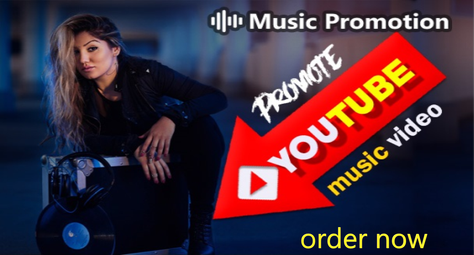 YouTube music and video promotion via social media marketing