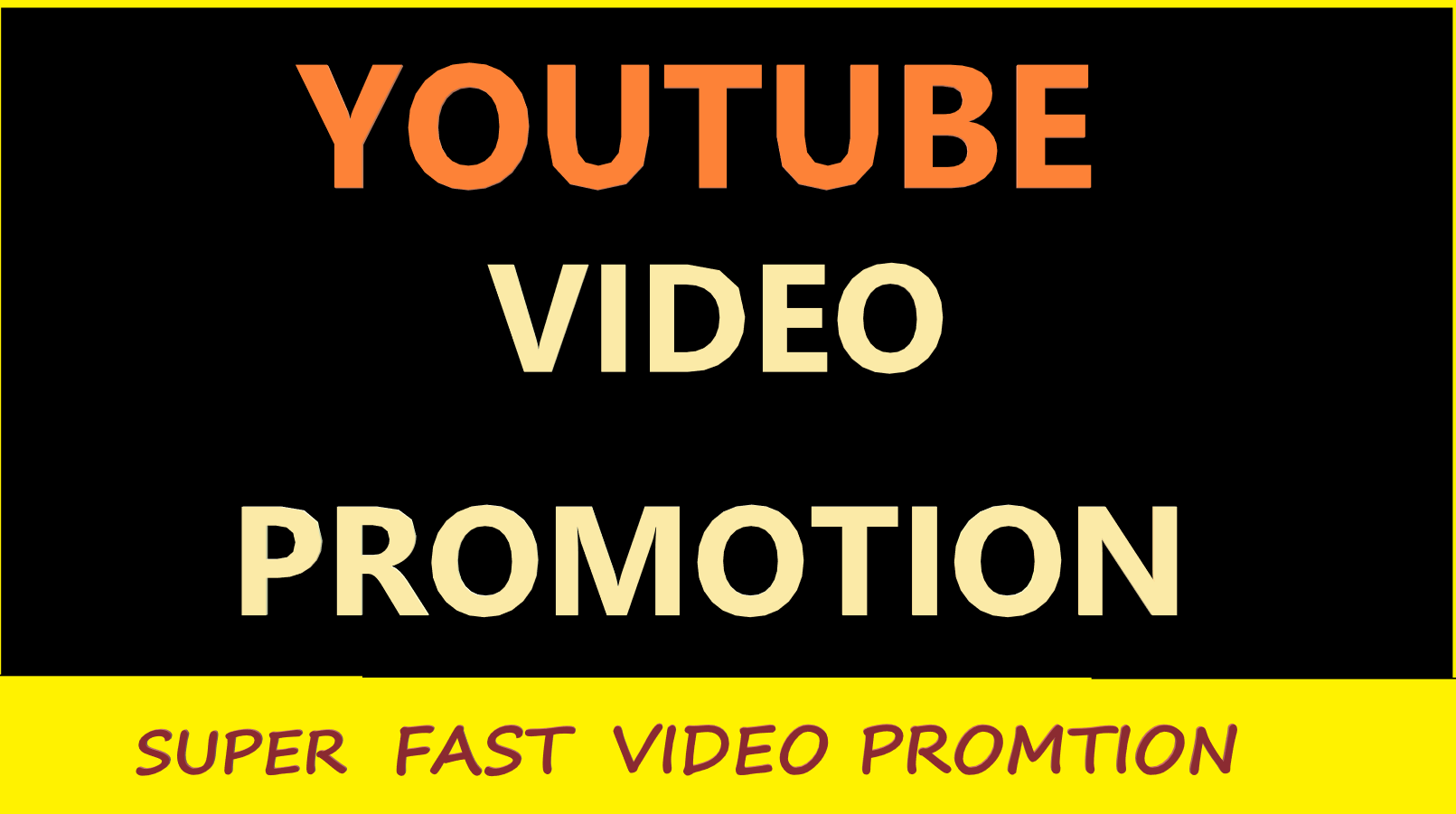 I will do massive YouTube video promotion Improve video ranking