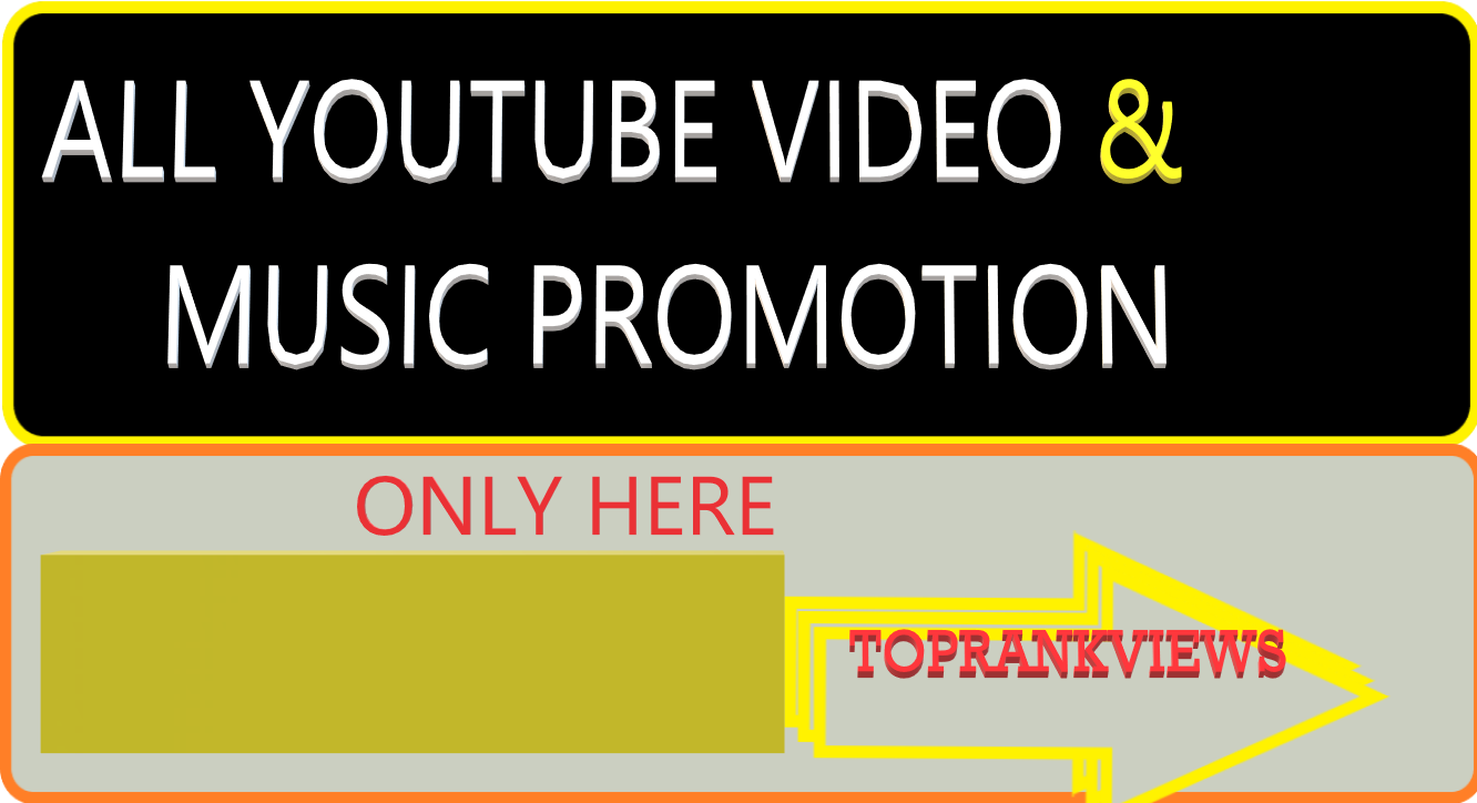 get instant start YouTube video and music promotion