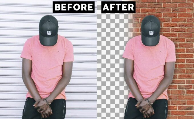 I will remove backgrounds of 100 images for you In 24 Hours