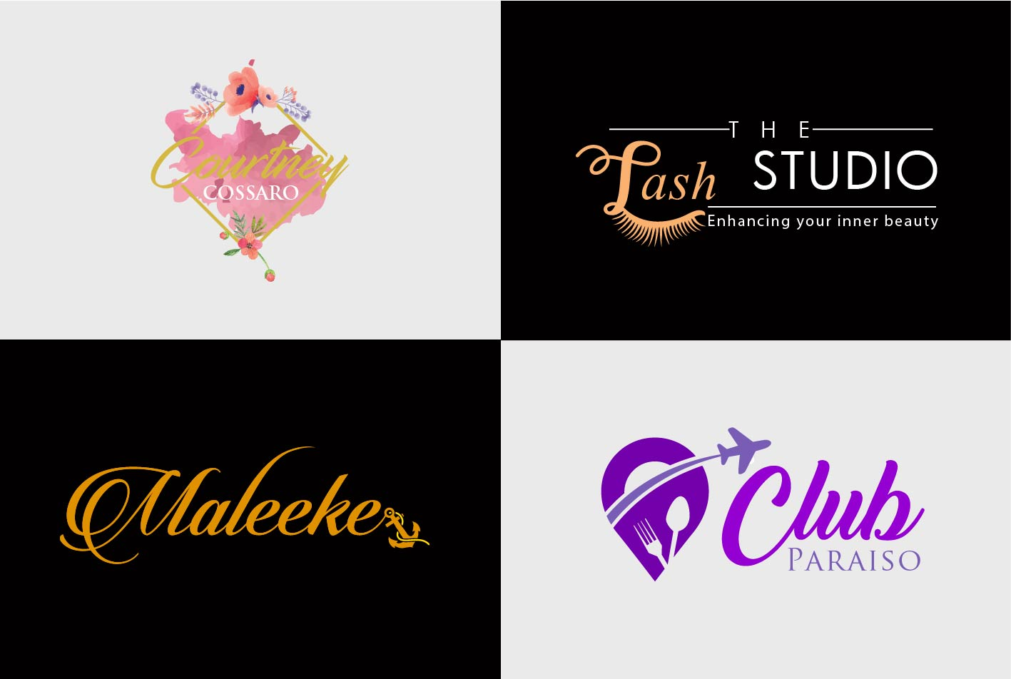 I will design creative signature logo for you in 12 hours