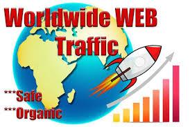 120,000 worldwide dsence safe raffic form traffic YouTube, Twitter, Linkedin, instagram