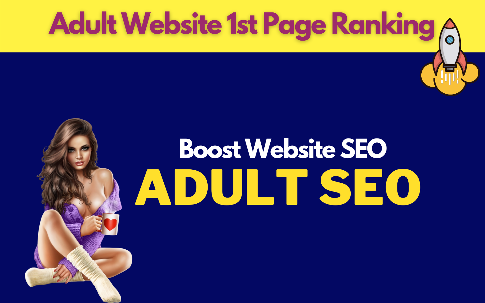1000 Dofollow Backlinks for Adult website to 1st page ranking