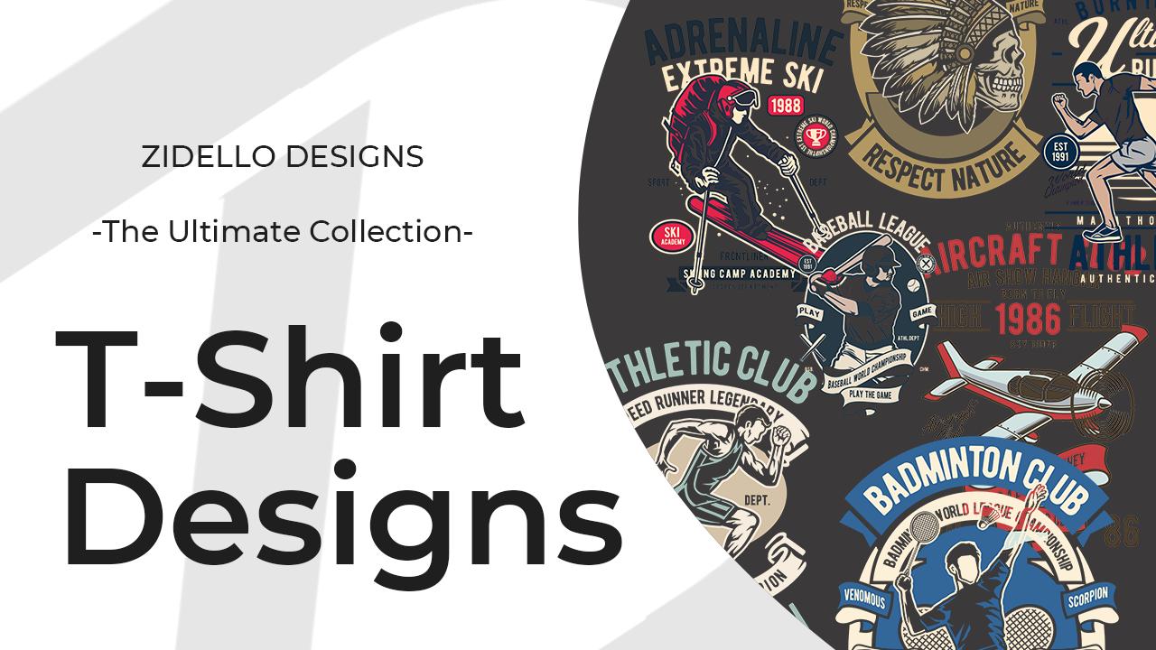 I will provide 100+ T-shirt design templates