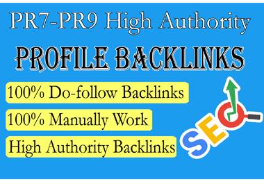 Get 20 Backlinks from PR7 to PR9