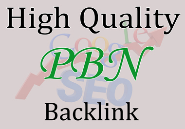 Offer 10 High Quality PBN Backlink with PA DA TF CF Unique website