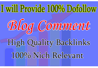 Provide 200+ Dofollow BLOG COMMENT High Quality Backlink