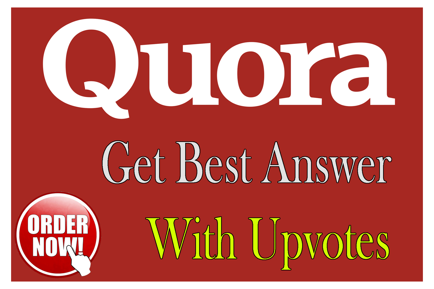 I will Posting High Quality 25 Quora Answer with backlink