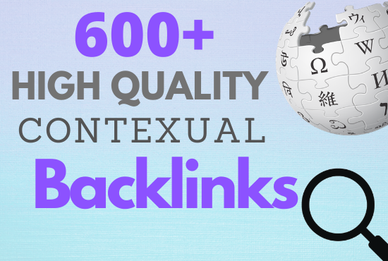Provide 600+ high quality & unique wiki articles contexual backlink