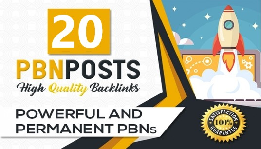 I Will Provide 20 PBN Dofollow Backlinks On High Metrics Solution To Boost Your Site Rank