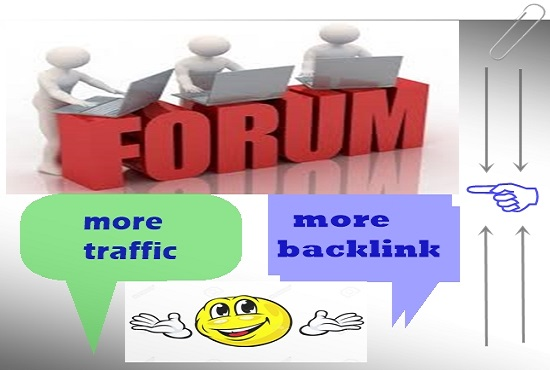 I will provide 20 Forum post and created niche relevant high authority backlink