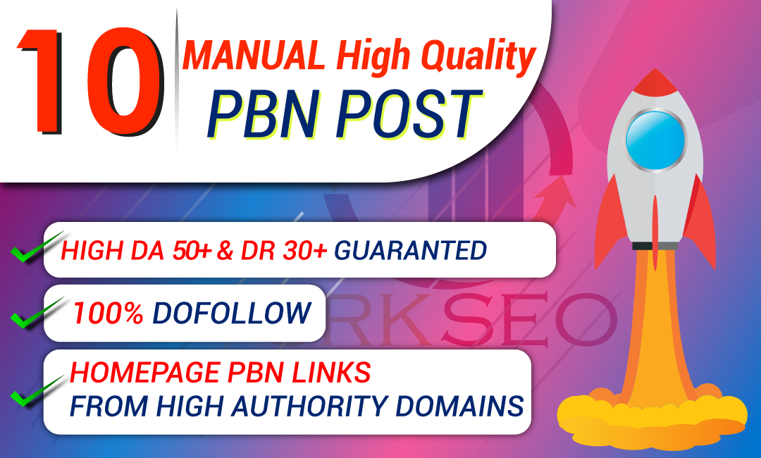 Build 10 PBN DA 50+ and DR 30+ Contextual Backlinks