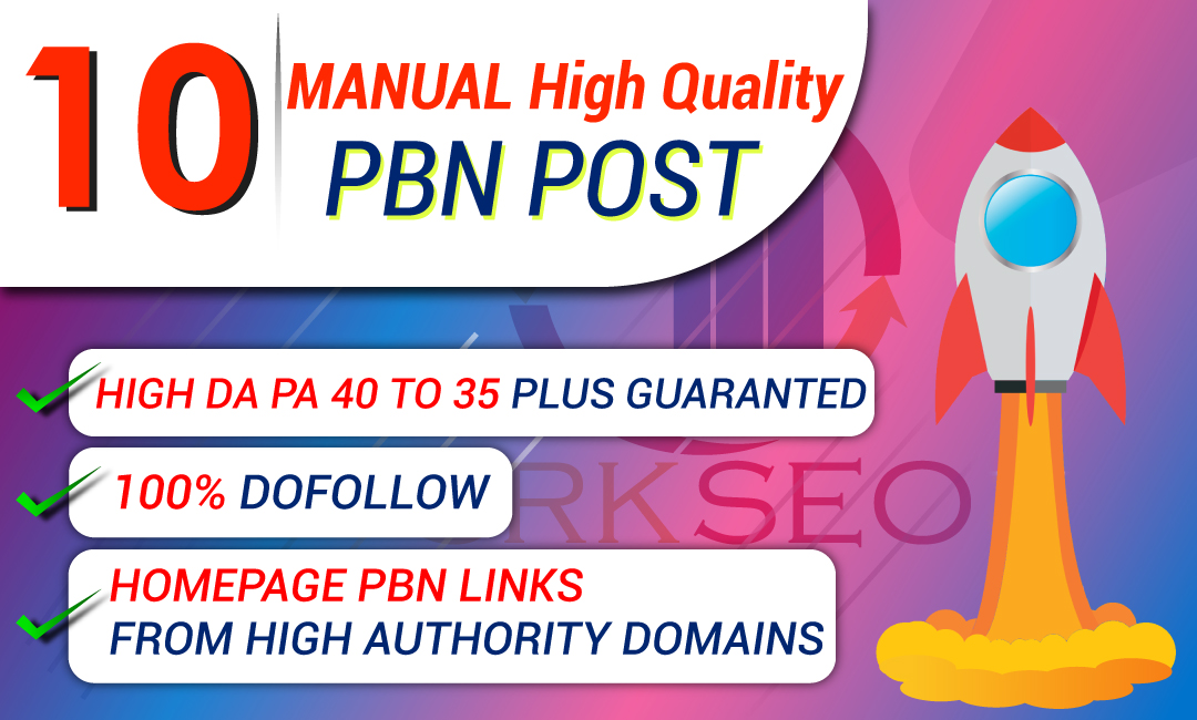 Build 10 PBN DA PA 40 to 35 Plus Contextual Backlinks