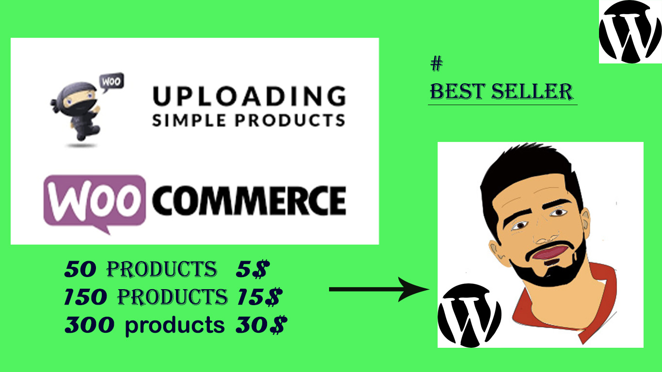 I will add 300 product to woo commerce and shopify store