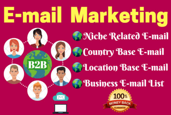 I will find 150 targeted niche email lists for email marketing campaigns