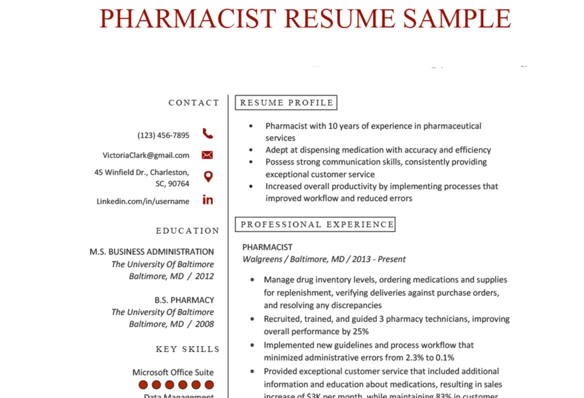 Write medical healthcare CV, resumes as a recruiter and insider