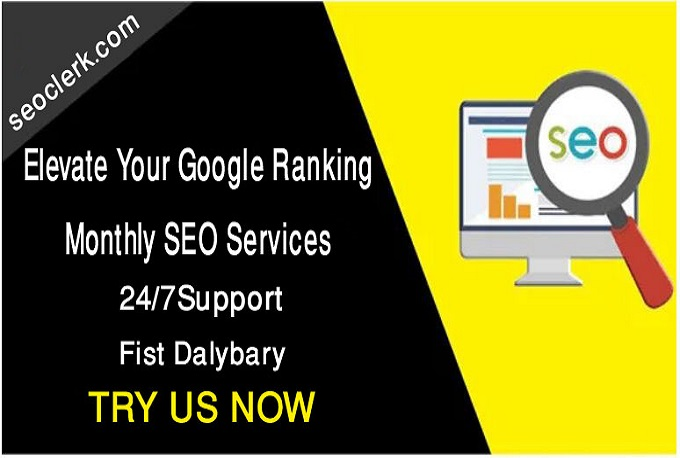 I will elevate your google ranking,  monthly SEO services