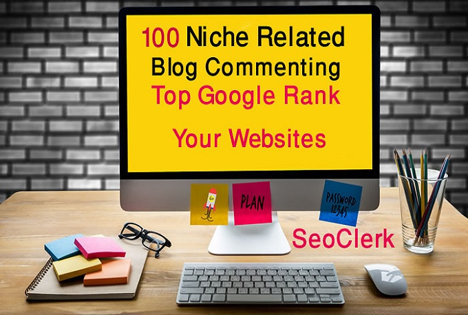 100 high quality Seo dofollow blog comments backlinks