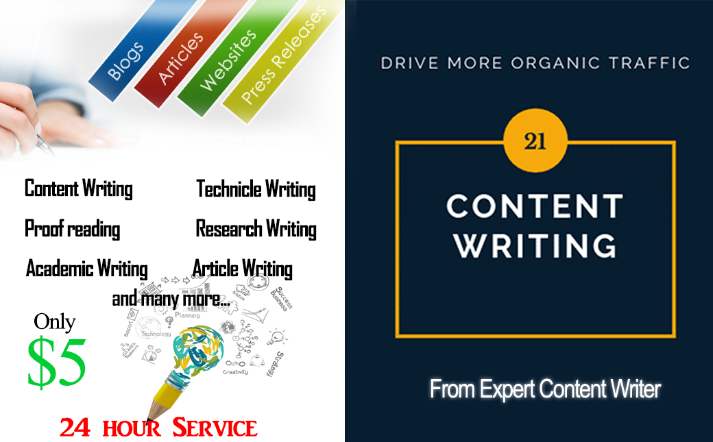I will write the best articles for your website