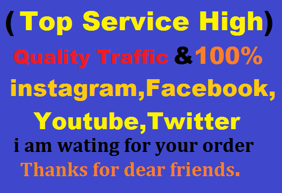drive 400,000 Website Worldwide Instagram,Facebook,YouTube,Twitter All Traffic Available Google Rank