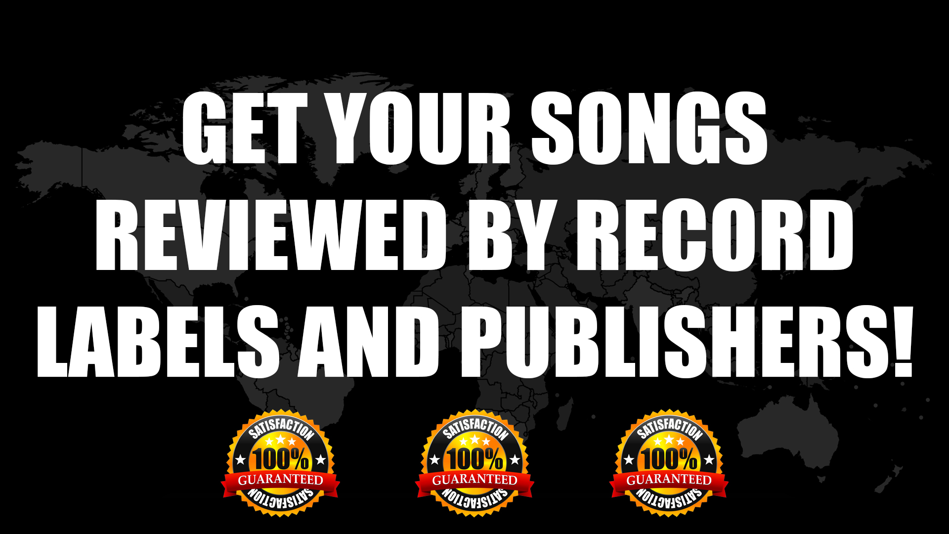 Get Songs Reviewed By Record Labels And Publishers Worldwide