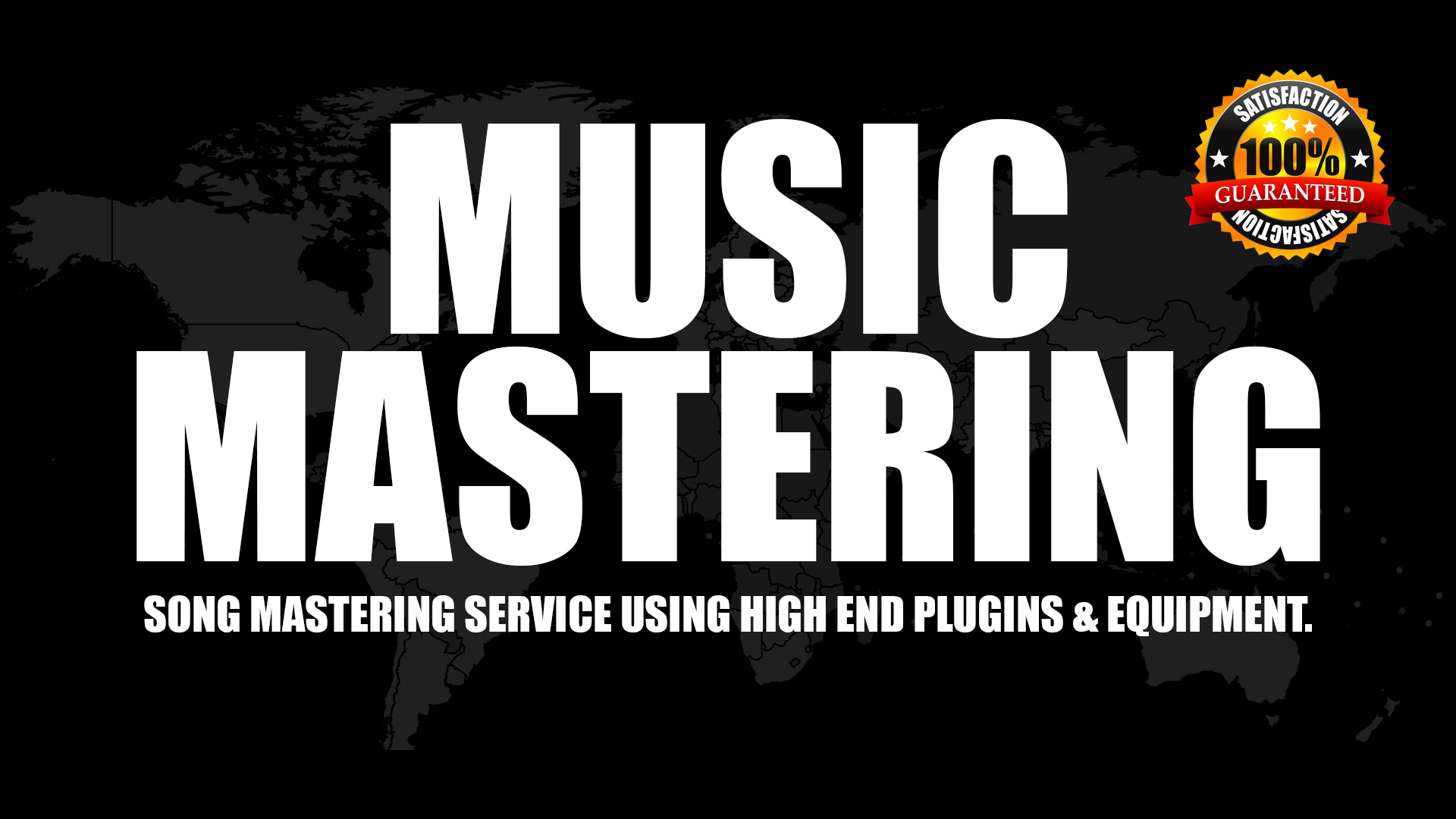 Professionally Master Your Song To Radio And Digital Streaming Quality.