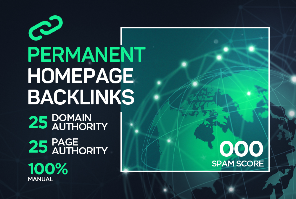 25+ DA PA Manual Permanent Backlinks to Google Page 1 ranking.